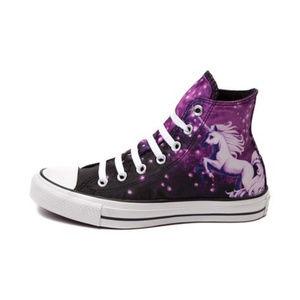 All Star Converse Unicorn Galaxy High Tops